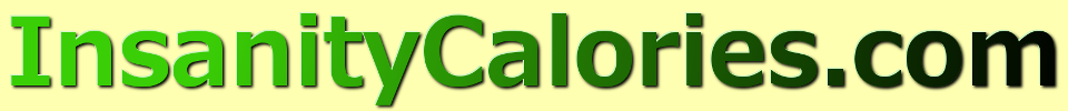 Insanity Calories Burned Calculator -