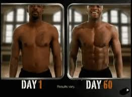 insanity workout results  men